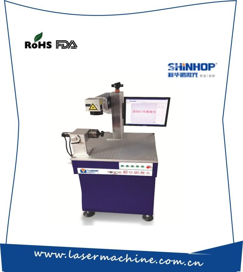 Portable Mopa Metal Fiber CO2 Laser Wood Engraving Marking Machine