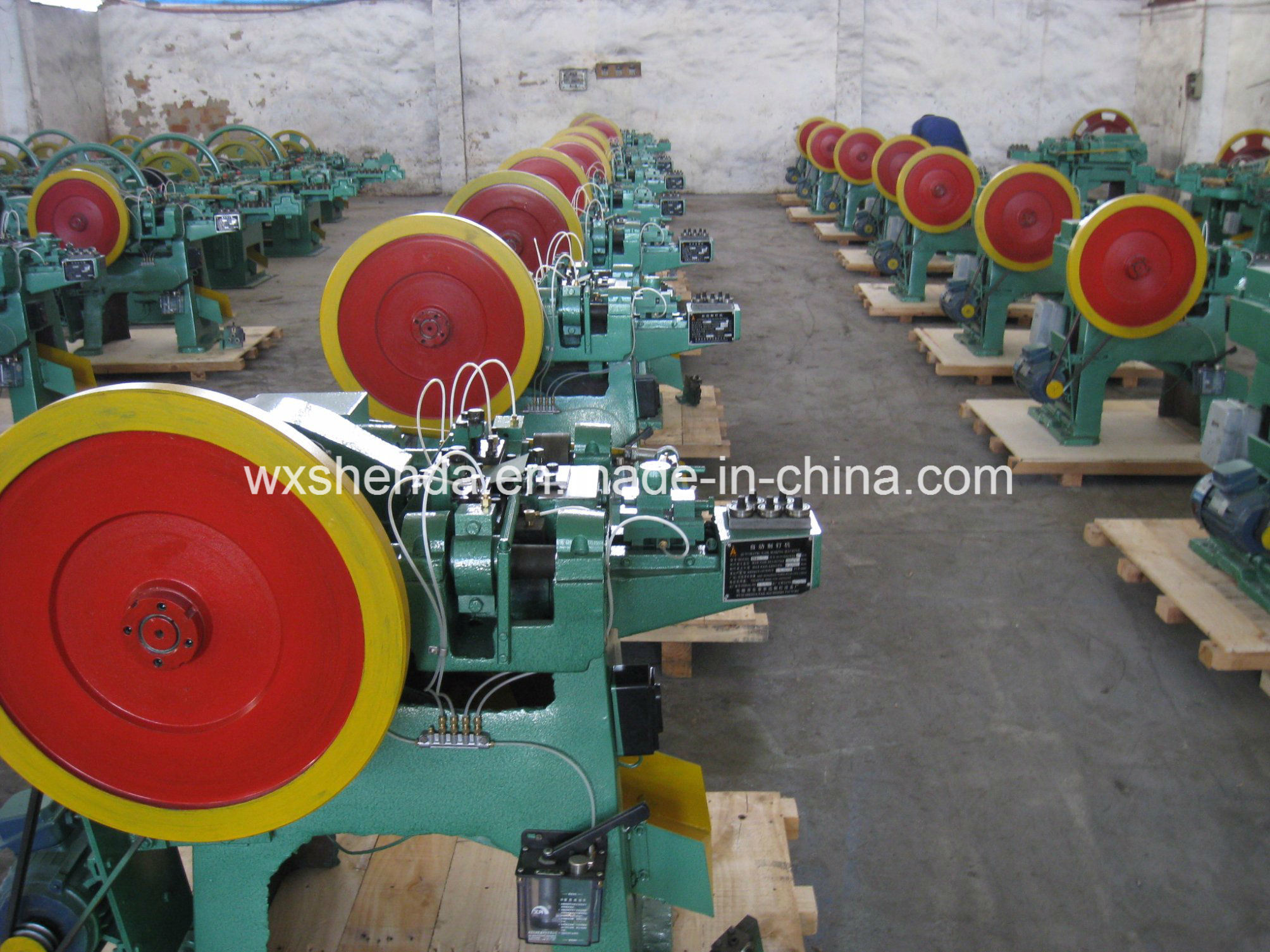 Hot Sell Popular Used Nail Making Machine for All Size Nail Making