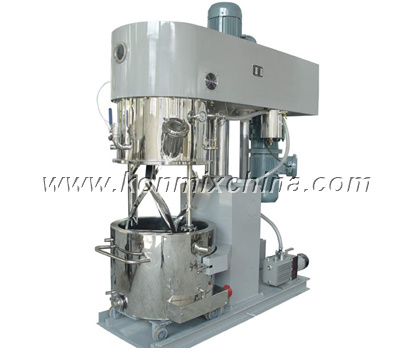 High Speed Double Planetary Mixer with Disperser