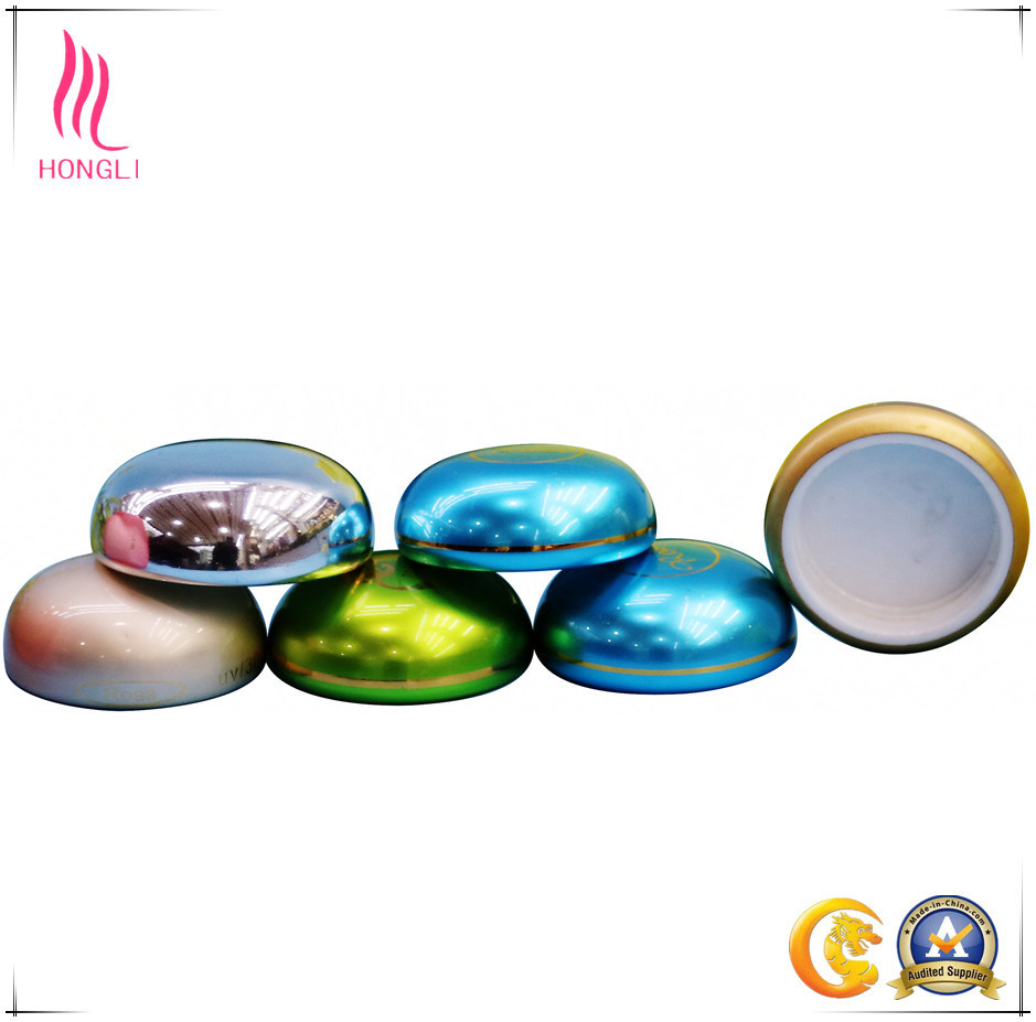 Custom Cosmetic Aluminum Cream Jar Metal Cap for Sale