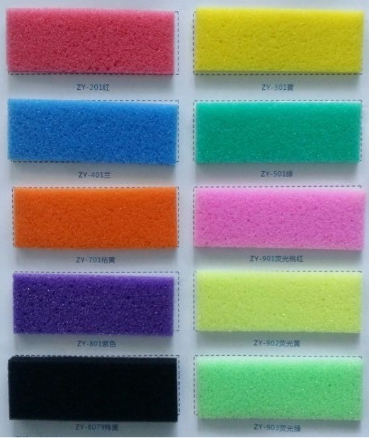 PU Pigments Used in PU Products