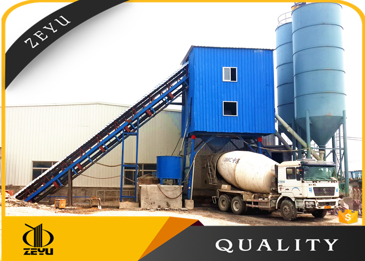 Hls90 Concrete Mixing Batching Plant