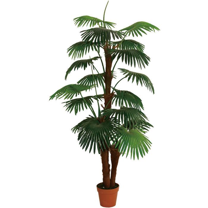 Artificial Plants of Fan Palm in 3 Stems