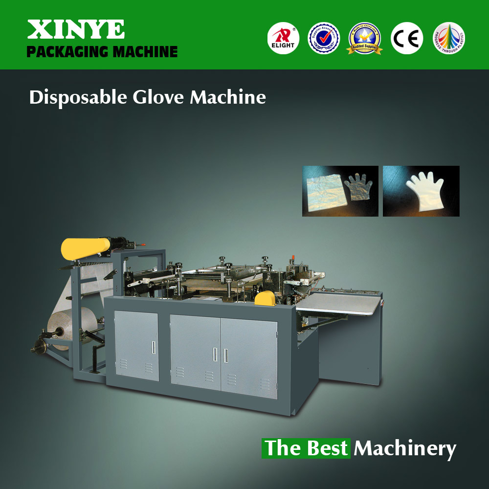 Disposable Plastic Glove Making Machine