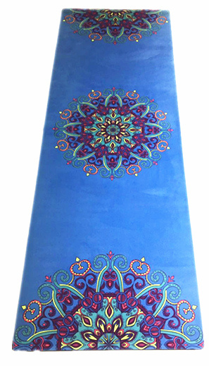 Extra Thick 3mm 5mm Pilates Exercise Yoga Mat with Printed Design