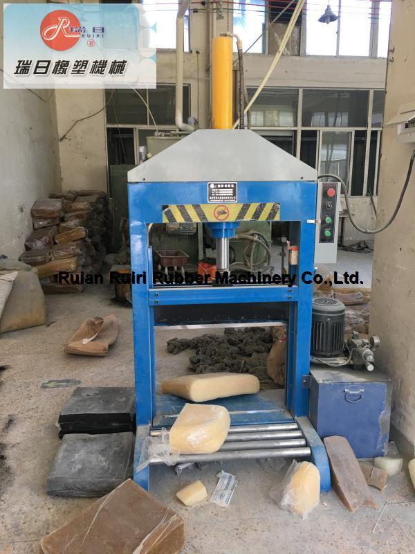 Vertical Single Blade Rubber Hydraulic Cutter/Xq-800 Cutting Machine (CE&ISO9001)