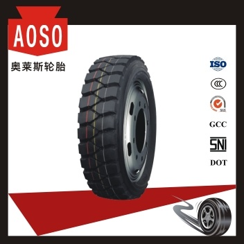 Anti-Chipping All Steel Radial Truck and Bus Tires with All Certificate