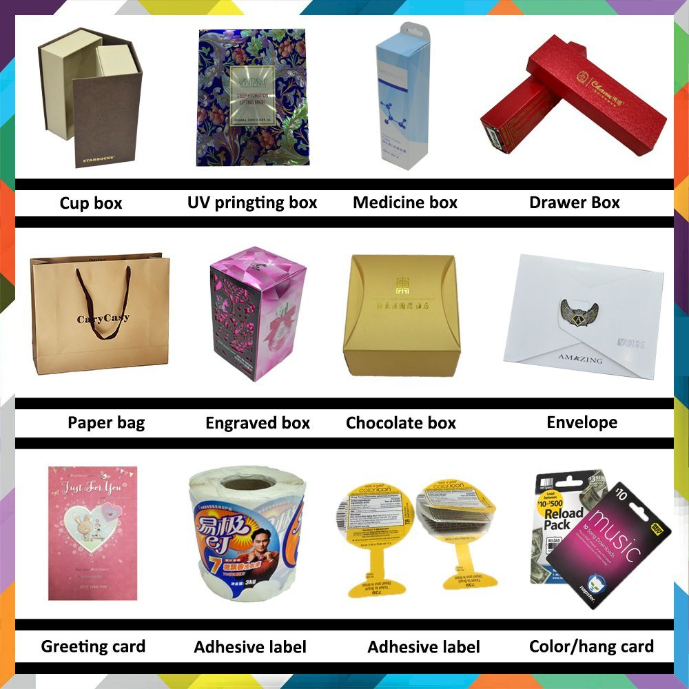 Full Color Folding Cosmetic Gift Paper Box
