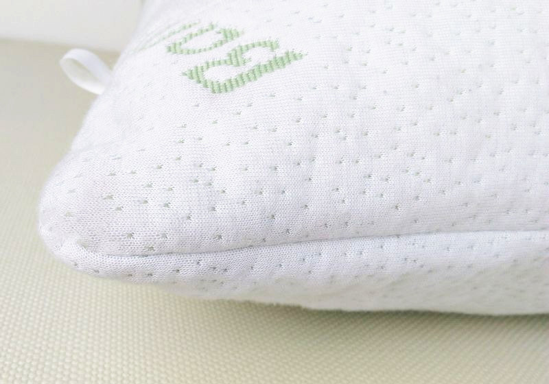 Shredded Memory Foam Pillow with Removable Bamboo Soft Pillow Case