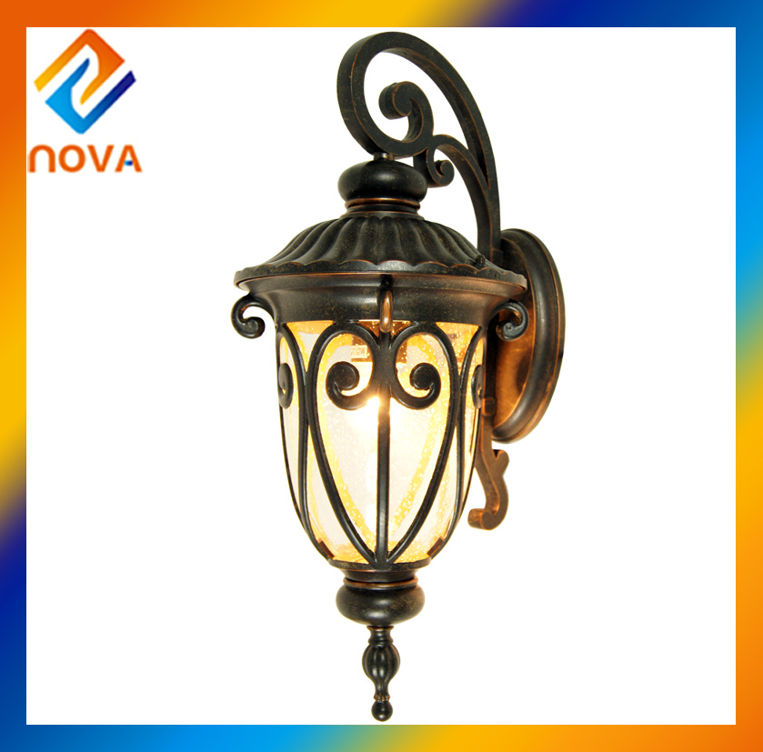 Outdoor Wall Lights and Aluminum Lamp Body Vintage Wall Lighting