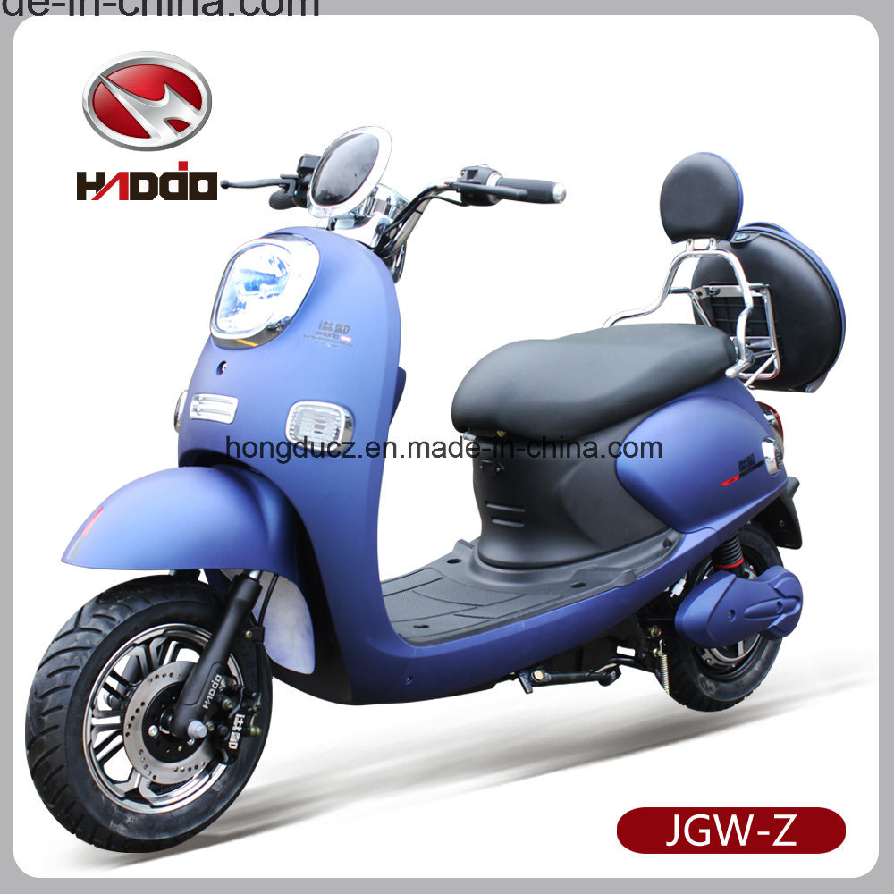 Popular Lady 60V 1000W Motorcycle Electric with Disc Brakes
