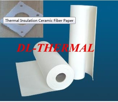 2mm Thermal Insulation Ceramic Fiber Paper as Gasket Seal Lining