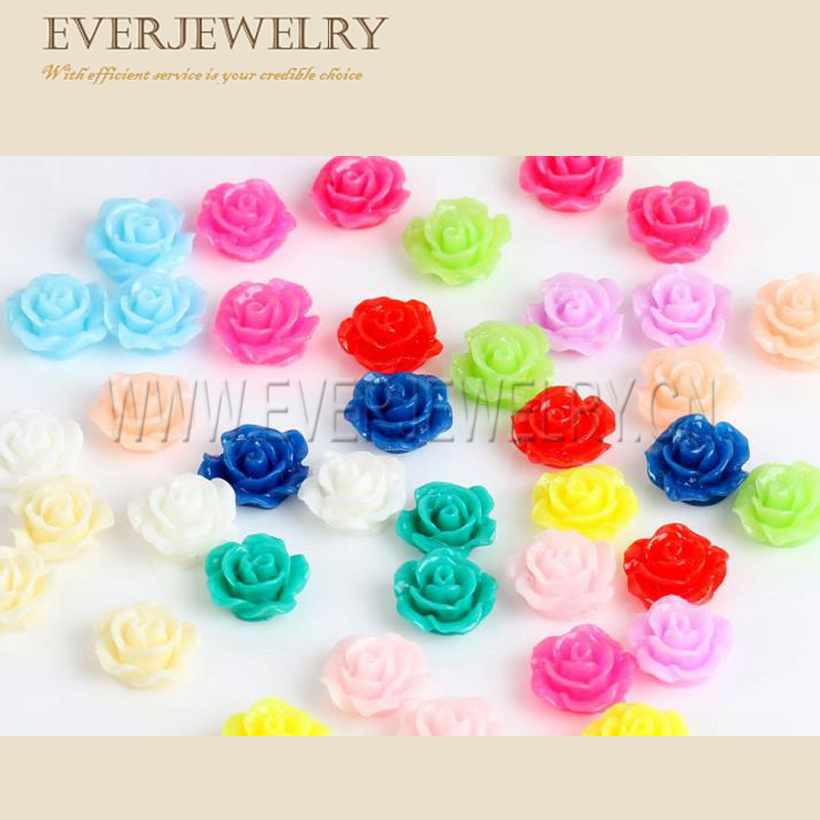 Decorate Resin Flower, Resin Flower Fairy, Flat Back Resins Flowers