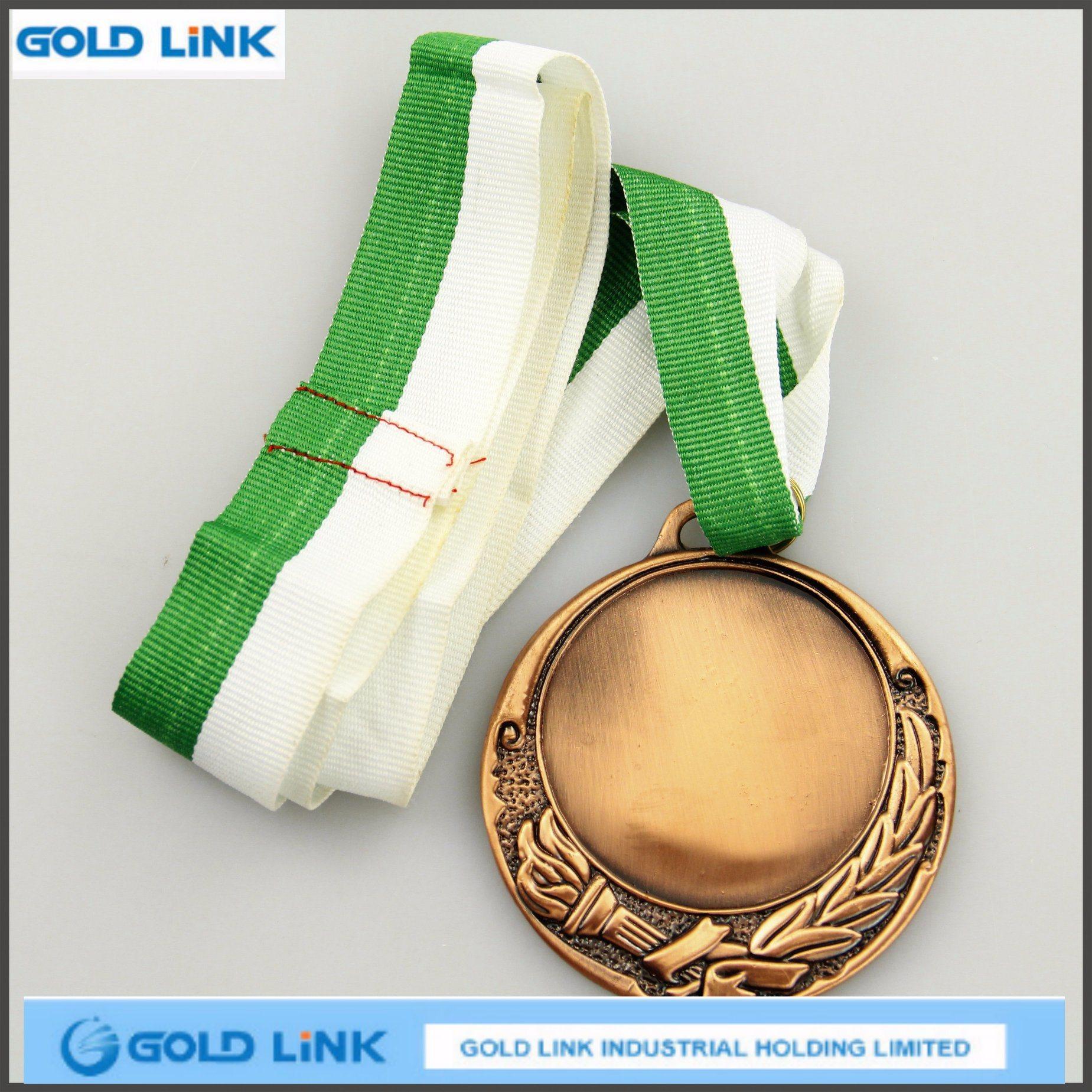 Die Casting Antique Silver Medal Custom Metal Medals Souvenir