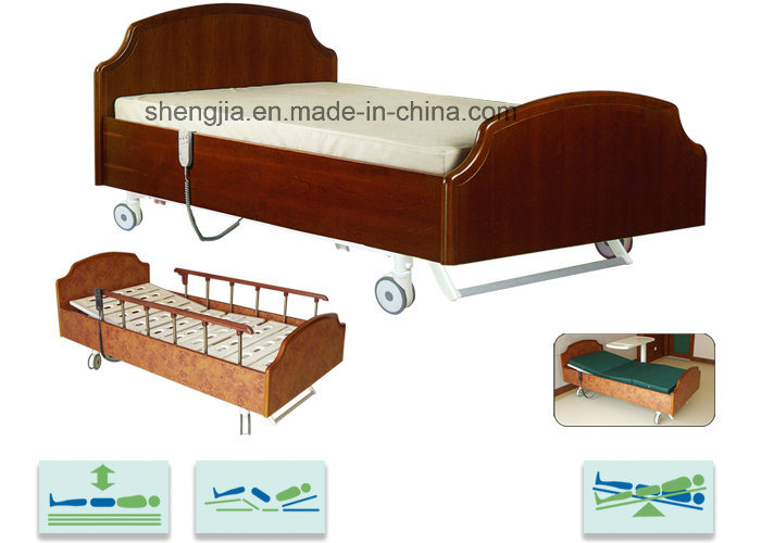 Sjb510ec Luxurious Homecare Electric Bed with Five Functions