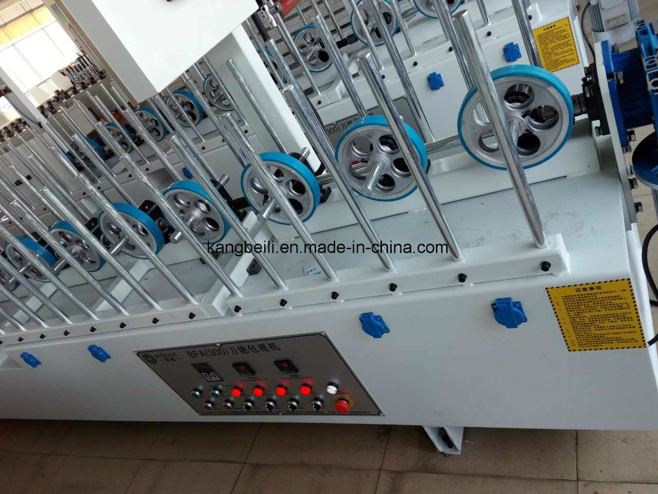 HDF Board TUV Certificated Furniture Decorative Mingde Brand Woodworking Wrapping Machine