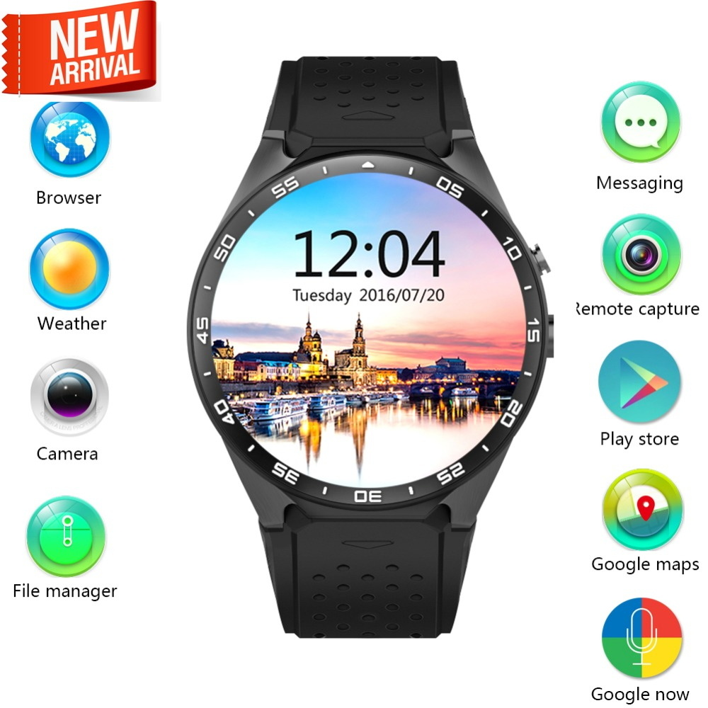 Smart Watch Support Heart Rate SIM WiFi Bluetooth GPS