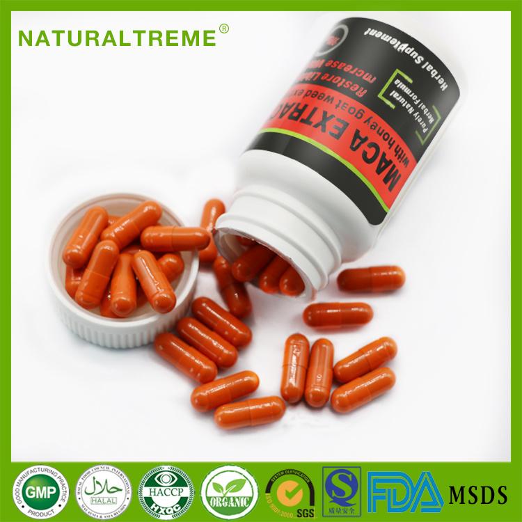 Lepidium Meyenii Walp Horny Goat Weed Extract Formula Capsules
