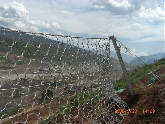 Sns Protection Network, High Strength, High Flexibility, Easy Maintenance, Passive Slope Protection System