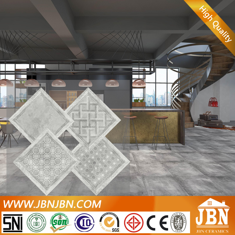600X600 Grey Color Cement Porcelain Floor Tile (JN6225H)