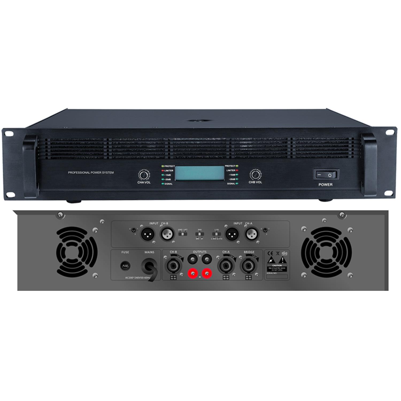 Public Address Professional Power Amplifier S-2200 Series
