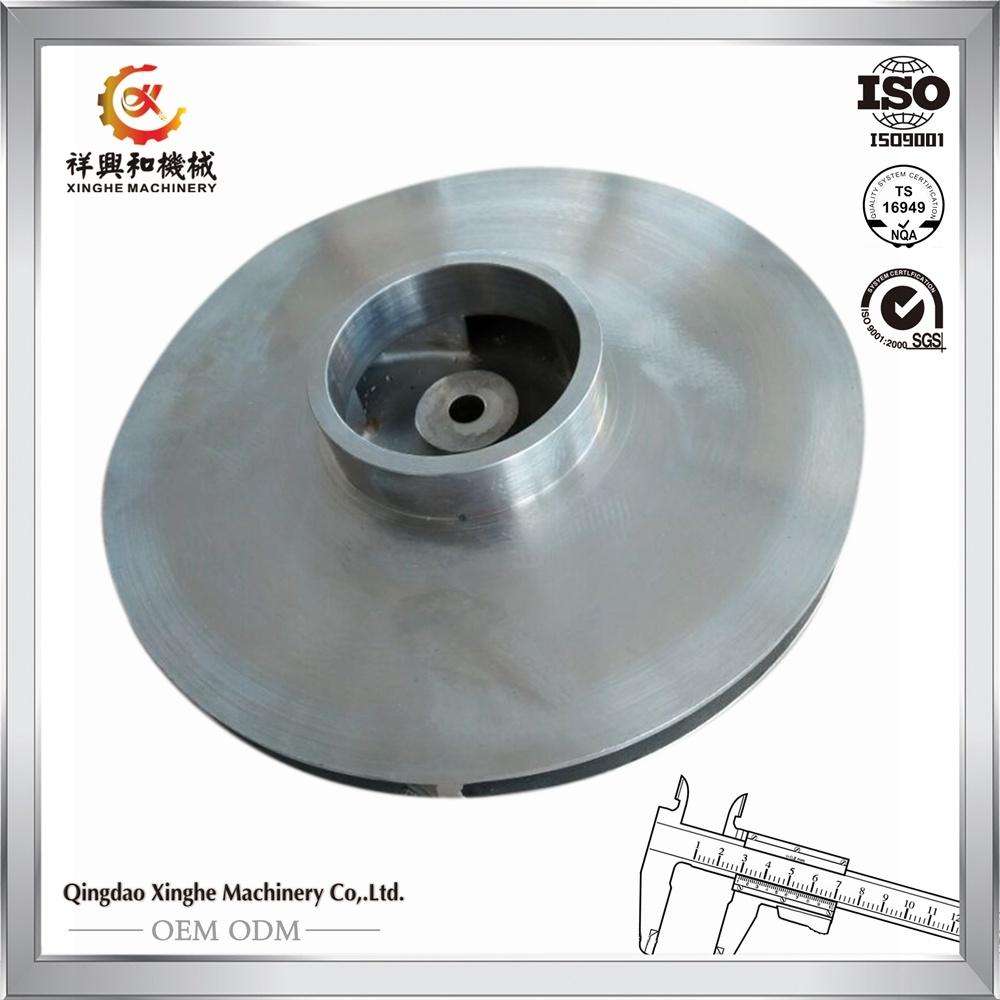 Stainless Steel Flywheel Customized Precision Casting Flywheel