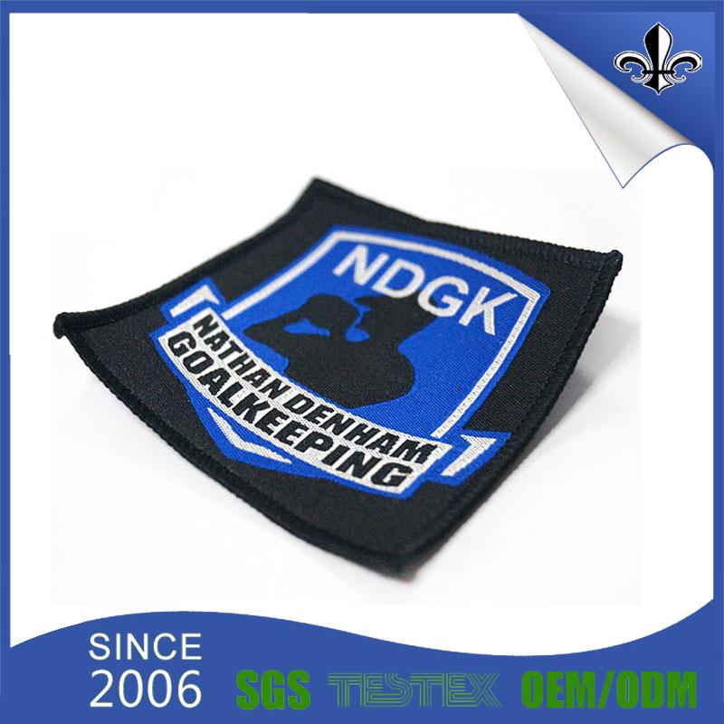 Garment Clothing Badge Custom Fabric Woven Label