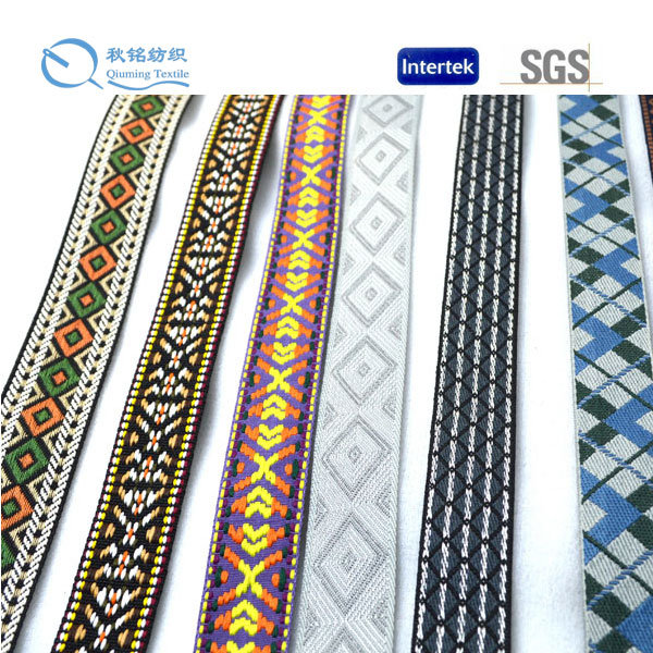 Shanghai China Fashionable Solid Colour and High Quality Polyester Webbing
