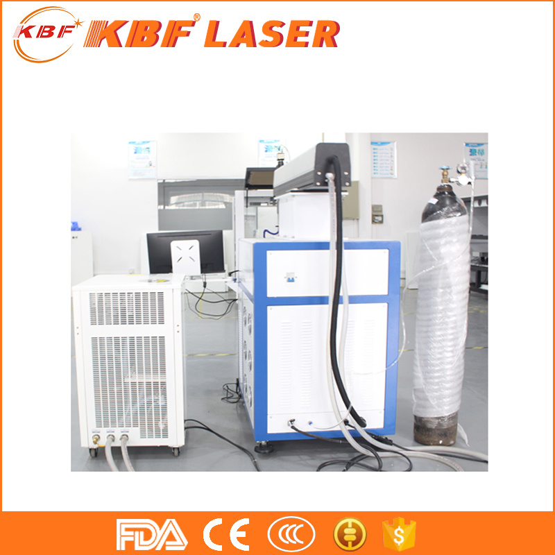 200W Three Axis Automatic YAG Spot Precise CNC Laser Welding Machine
