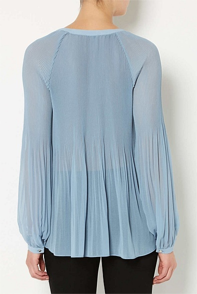 100% Polyester Romantic Soft Blouse