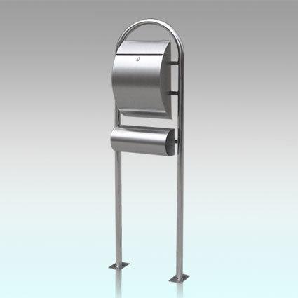 Gh-1314r1u3 Rustproof Stainless Steel Standing Mailbox