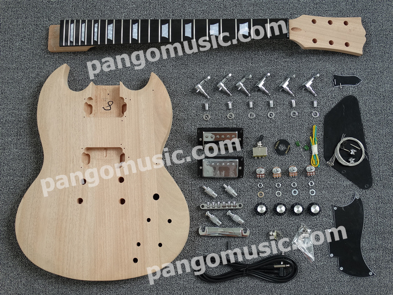 Pango Music Sg Style DIY Electric Guitar Kit / DIY Guitar (PSG-902K)