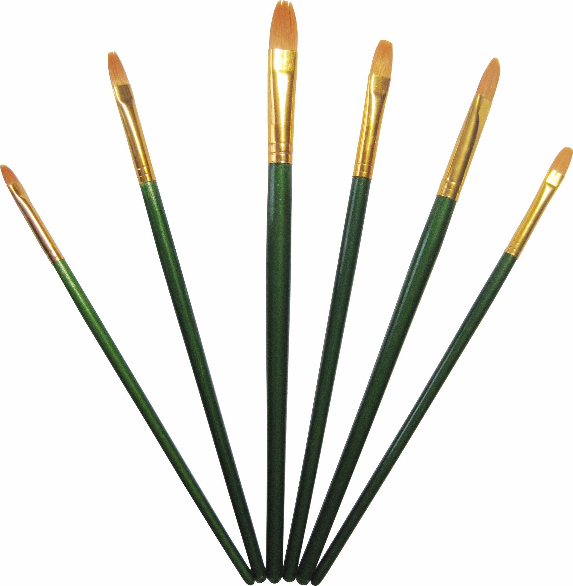 Nylon Hair Brush Set Art Paint Brush