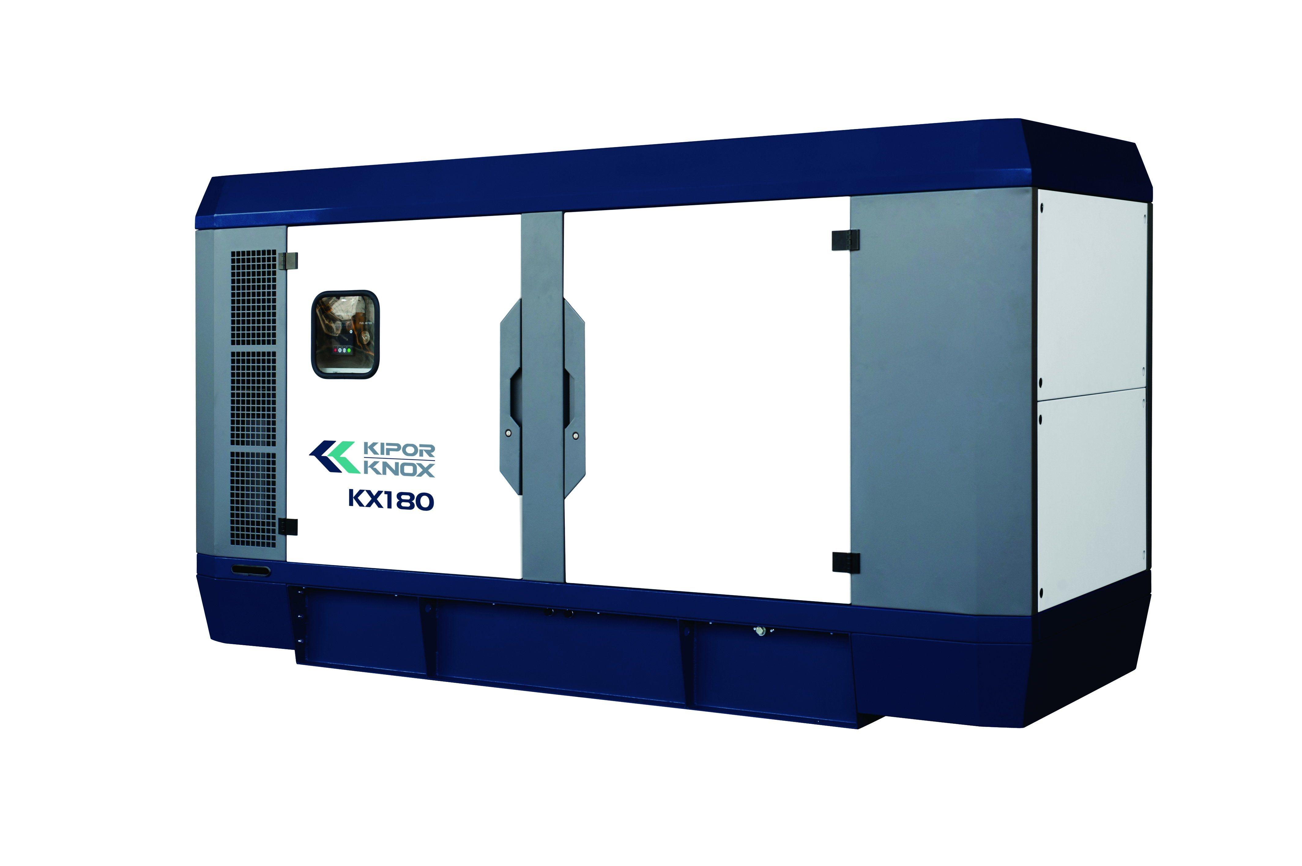 Kipor Knox 120kw Prime Power Silent Power Generator Kx180 with Kipor Engine