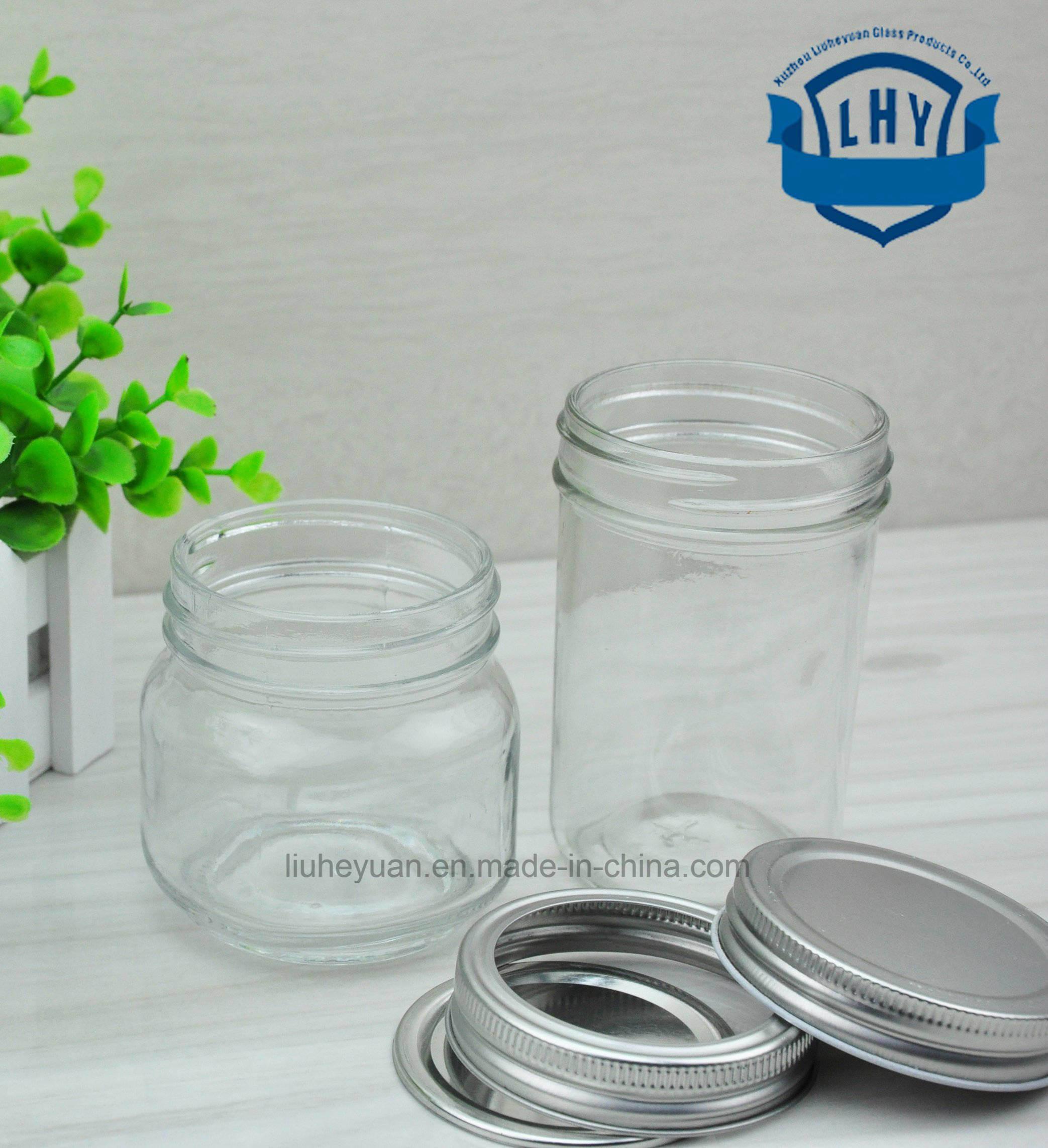 190 Ml Honey, Bird′s Nest, High-Grade Lead-Free Glass Bottles