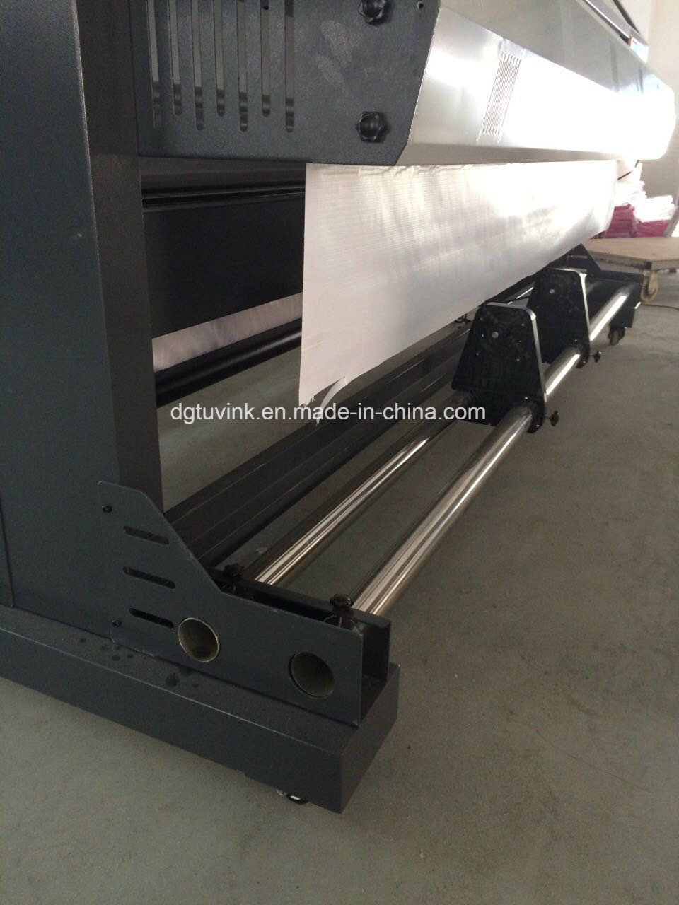 2.2m UV Printer Two Heads Dx5 Dx7 Indoor Outdoor Flex Banner Advertising Printing Machine