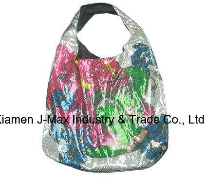 Women′s Paillette Large Casual Tote Shoulder Bag, Crossbody, Large Storage Capacity