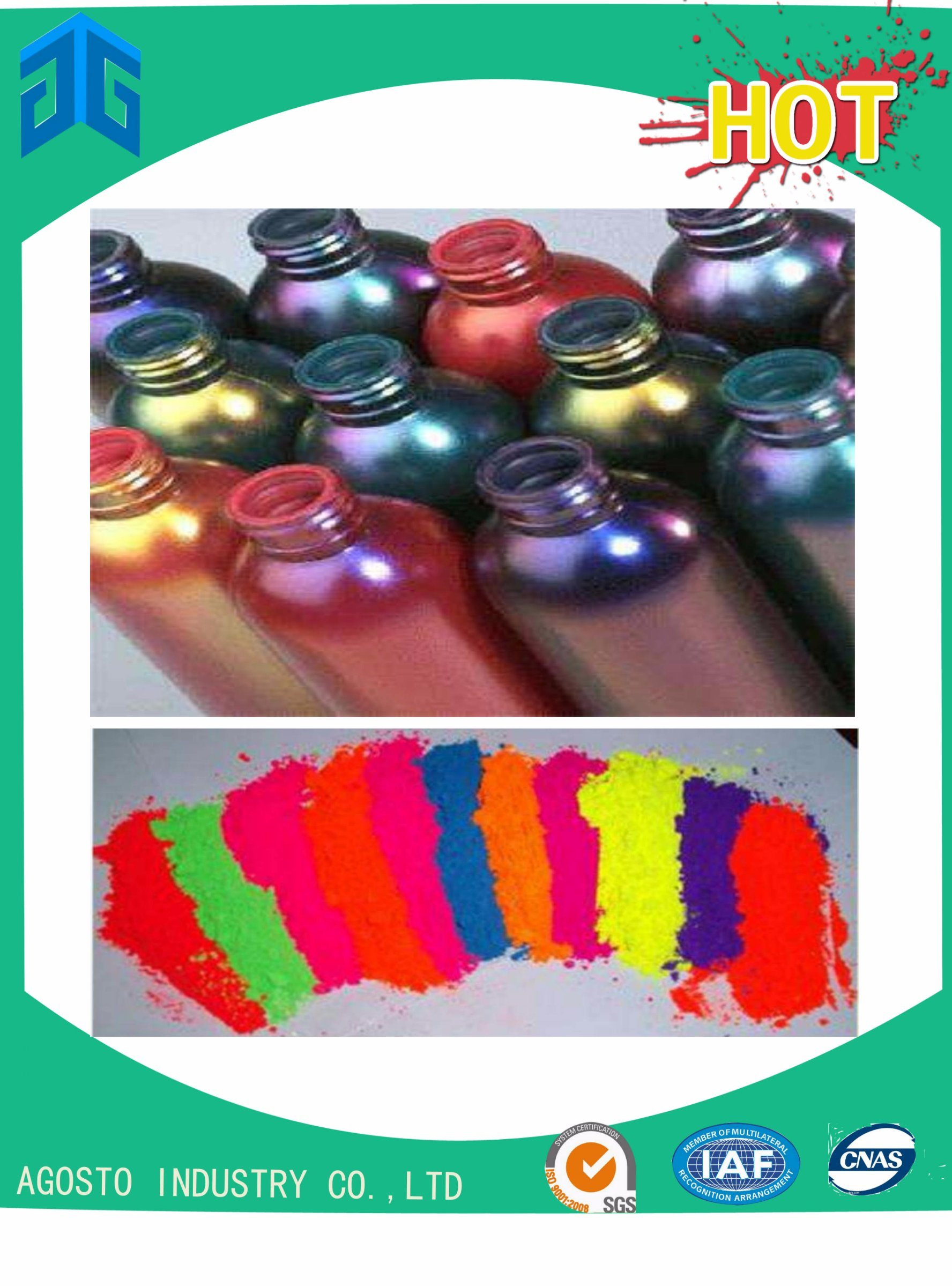 Thermochromic Color Change Pigment for Costume