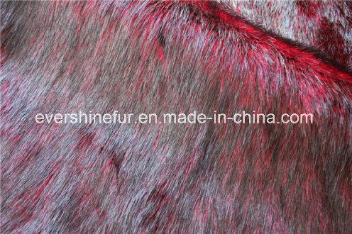 Fake Fur Fabric Faux Fur for Garment/Hat/Shoe/POM