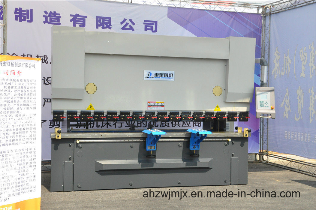 We67k 100t/3200 Electro-Hydraulic Dual Servo Synchronous CNC Press Brake