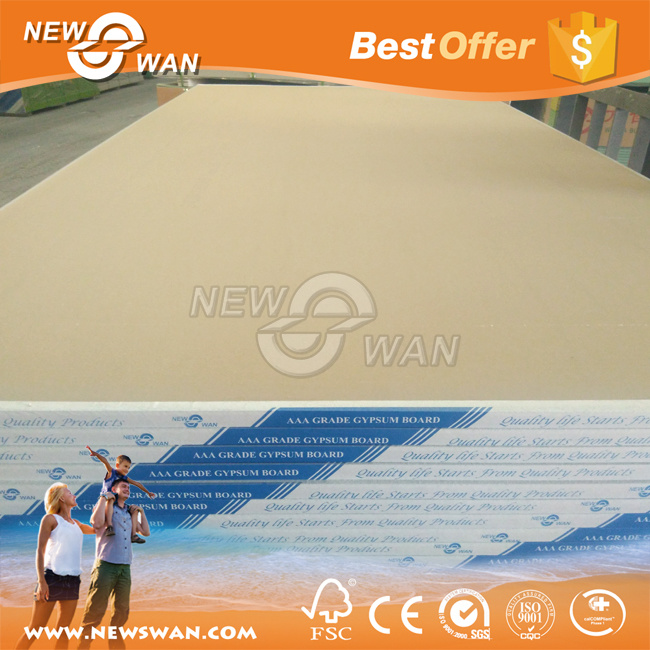 Factory Plasterboard / paper Faced Plaster Board