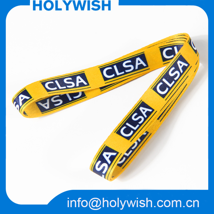 Thermal Sublimation Medal Lanyard Ribbon for Printing Customized