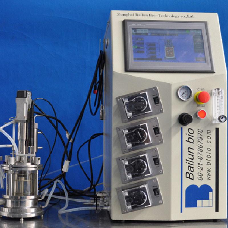 0.5liler Glass Bioreactor