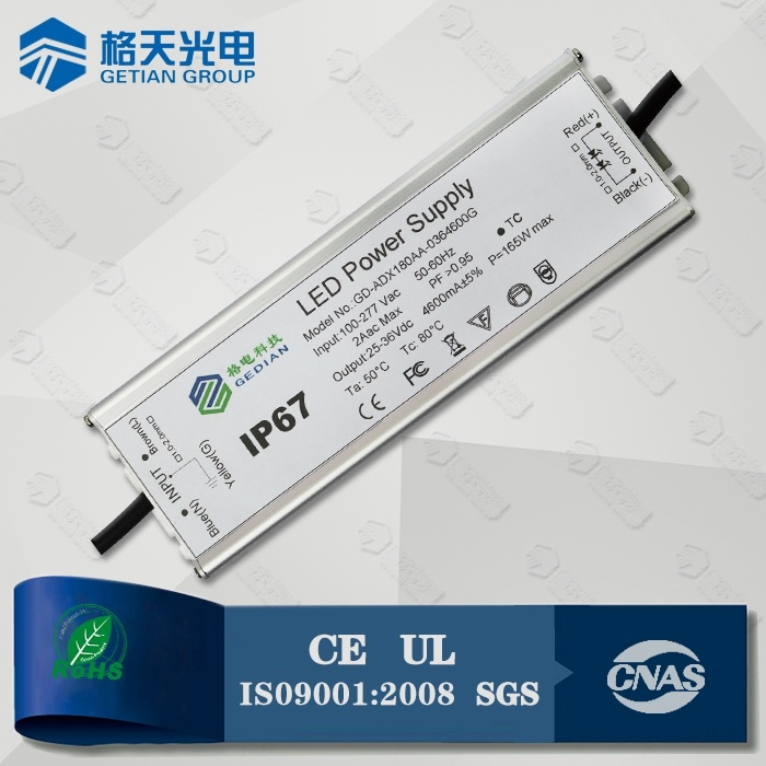 Waterproof IP67 80W LED Power Supply for LED High Bay