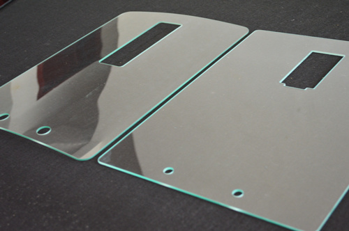 Tempered Glass Apply for Dairy Product