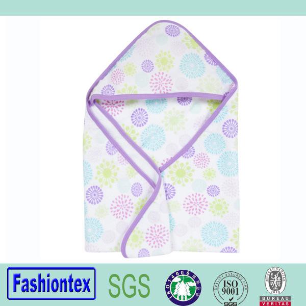 100% Cotton Newborn Muslin Poncho Towel Hooded Toddler Bathrobe