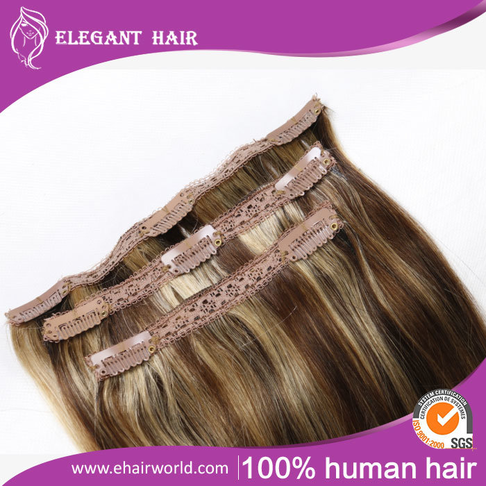 "European Remy Hair Clip-in Hair Extensions 20"" 8PCS Set"