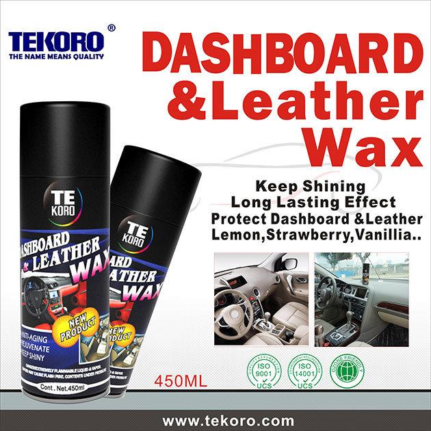 Reach RoHS Dashboard and Leather Polish Wax Spray