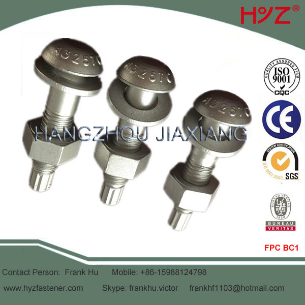Round Head High Strength Bolt with Splined-End