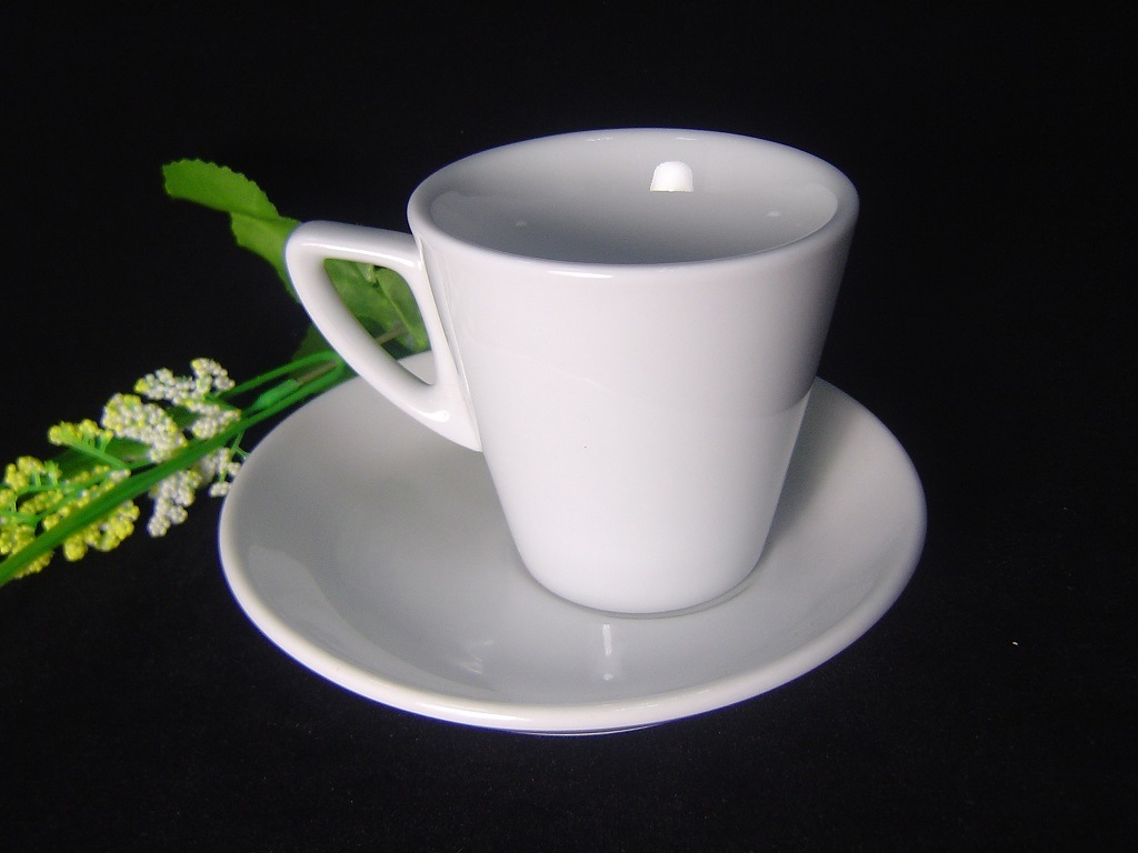 Porcelain Thick-Wall Coffee Cup